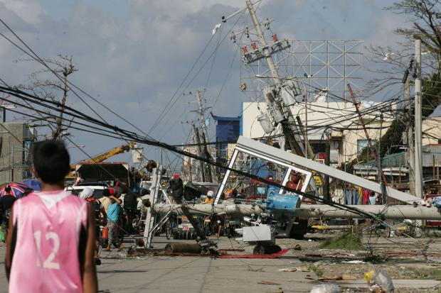 Typhoon Haiyan, one of the strongest typhoons ever recorded, made landfall in the Philippines Friday.