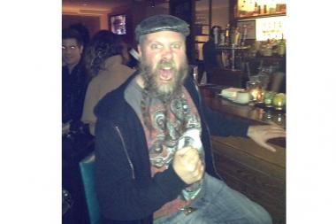 Chris Cox, a bartender at Bricks Pizza in Lincoln Park, was attacked and robbed in October.