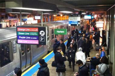 Anticipating a crush of travelers heading out of town ahead of Thanksgiving, the Chicago Transit Authority is increasing the number and lengths of 'L' trains Wednesday.