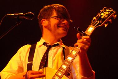 Colin Meloy, the front man of Portland, Ore.-based indie folk band The Decemeberists is playing solo Monday at Park West.