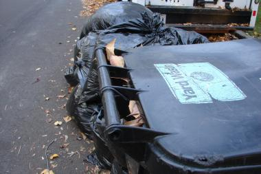 Garbage collection days are changing in areas of Lincoln Square. Check the map.