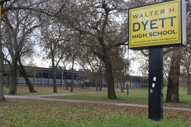 "Community members in Kenwood and Washington Park said the phase out of Dyett High School will create a ""school desert"" in Bronzeville and are urging CPS to consider reopening the school as a ""global leadership and green technology high school."""