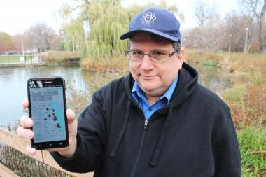 Daniel Ebel created a Web application that maps nature sites by category throughout Chicago.