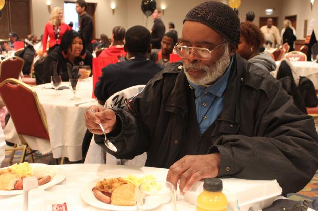 The 14th Annual Food for the Body and Spirit program was held Nov. 20, 2013 at Apostolic Church of God in Woodlawn.