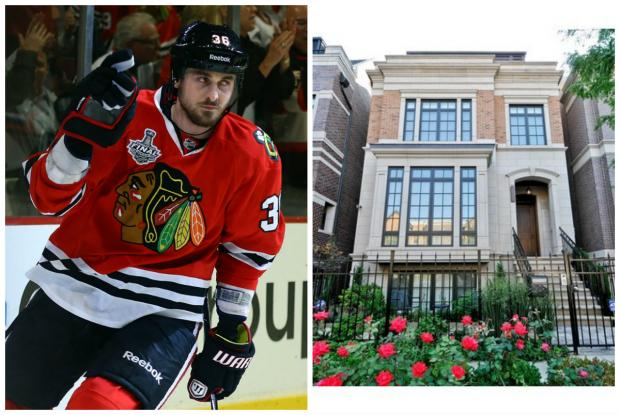 The former Blackhawks player sold his Lincoln Park home for $1.95 million