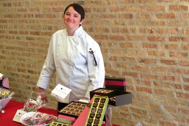 Edgewater resident Heather Johnston founded Logan Square-based Veruca Chocolates two years ago. She's producing 7,000 packages of Gelt for Grown-ups for Hanukkah this year.