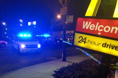 A man in his 20s died after he was shot at Central and Fullerton avenues in Belmont Cragin.