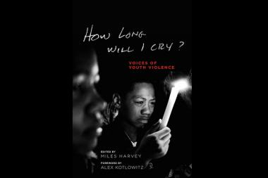 "The book cover of ""How Long Will I Cry?"""