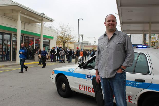 John Folino works as a sergeant for the Chicago Police Department and as a consultant on shows featuring police work and Chicago.