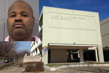 King College Prep Local School Council member Reginald Jones was arrested for public indecency in September 2013.