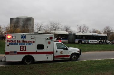 Four people were hurt in crash involving a CTA bus Monday morning, authorities said.
