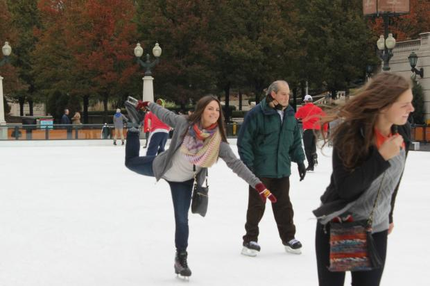 The Millennium Park Ice Rink kicked off its season Friday and will offer free skating lessons.