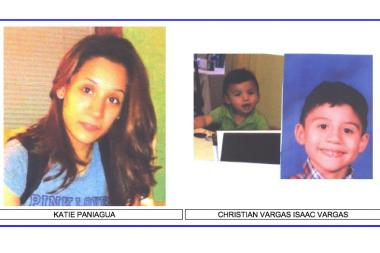 Katie Paniagua and her children Christian Vargas and Isaac Vargas were last seen near Gage Park.