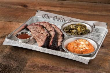 The Old Crow Smokehouse serves up barbecue in a country-themed setting at 3506 N. Clark Street.