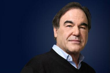 Oliver Stone visits Northeastern Illinois University to talk about his latest series for Showtime.