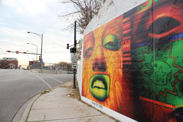 A mural honoring the acclaimed Chicago artist is complete near Lawrence and Avondale avenues.