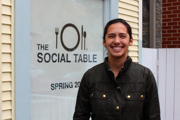 The Social Table is on pace to open at 819 W. Armitage Ave. in the spring of 2014.