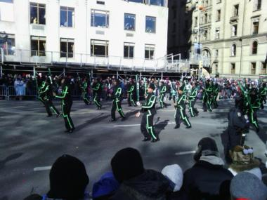 Thanks to some last-minute donations, Chicago's South Shore Drill Team was able to perform in the Macy's Day Thanksgiving parade in New York.
