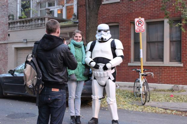 """Star Wars"" hopefuls lined up early Thursday for an open casting call at Park West."