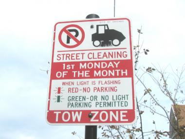 Street cleaning signs in the Tri-Taylor area don't work, but the city continues to issue parking tickets.