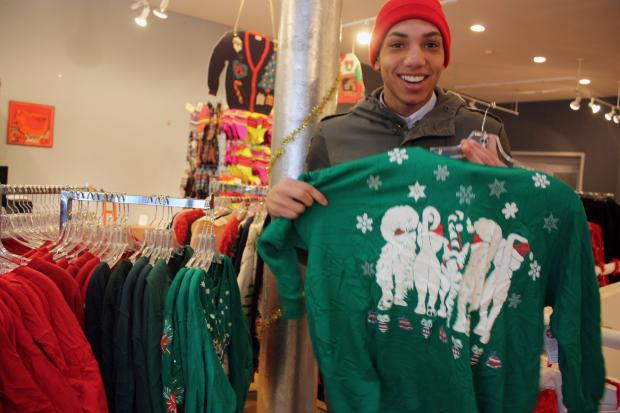 The Minneapolis-based chain opened a pop-up store to meet demand as ugly sweater parties become more popular.