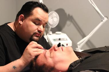 Wax Man caters its salon and spa services to men.