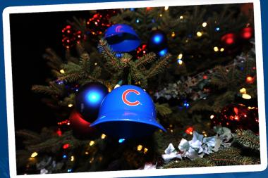 Chicago Cubs will host their annual tree lighting ceremony on Thursday, Dec. 5 at 5:30 p.m.