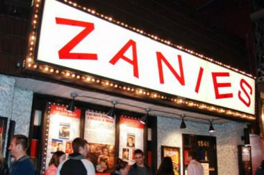 Greer Barnes performs at Zanies on Thursday.