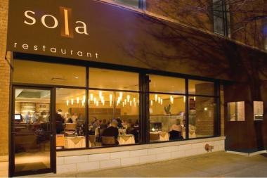 Chestnuts take center stage in Sola's holiday-inspired prix fixe menu.
