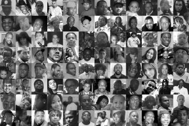 Some of the 421 people murdered in the city in 2013, according to DNAinfo Chicago numbers.