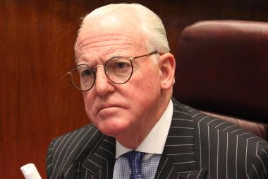 Finance Committee Chairman Edward Burke denied there was any attempt to keep a referendum on an elected school board off the ballot.