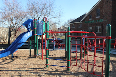 Avondale Park's rehab is part of the city's Chicago Plays! initiative.