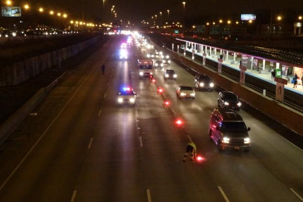 Illinois State Police are investigating the death of a 4-year-old boy on the Dan Ryan Expressway Sunday evening.