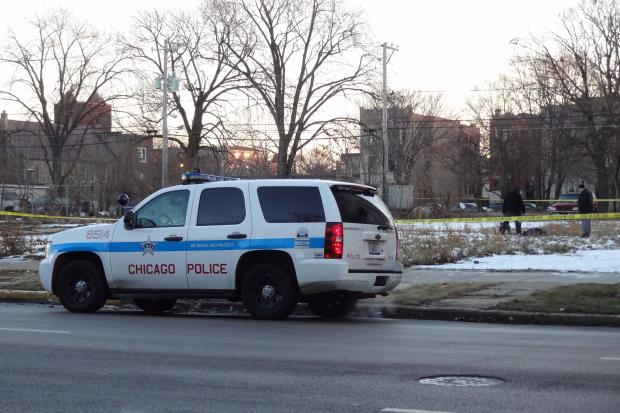 A man was shot dead near 45th and Indiana streets in Bronzeville Saturday morning.