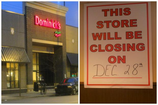 The Dominick's at 2021 W. Chicago Ave. is closing Dec. 28.