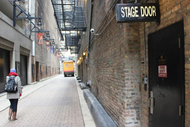 The alley behind the Oriental Theater, formerly the Iroquois Theater, is known as Death Alley.