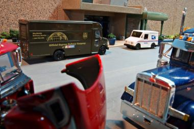 A Downtown pilot program shifts payment for loading zones from merchants to delivery trucks.