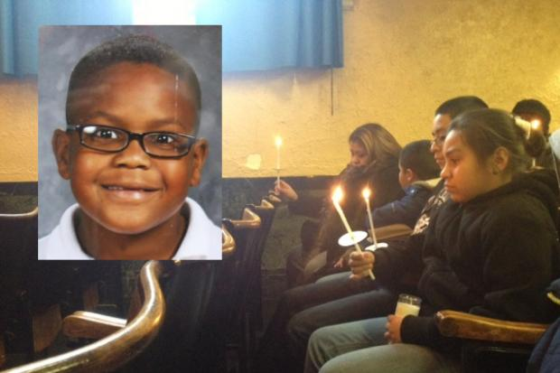 By the age of just 11 Donovan Turnage touched the lives of many, said loved ones who gathered Monday for a vigil at Morrill Math & Science School to talk about the boy killed in a car crash Saturday.
