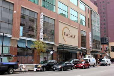 Eataly Chicago opens at 4 p.m. Monday, and Uber is offering free rides to and from the grocery store from 3:30 p.m. to midnight.