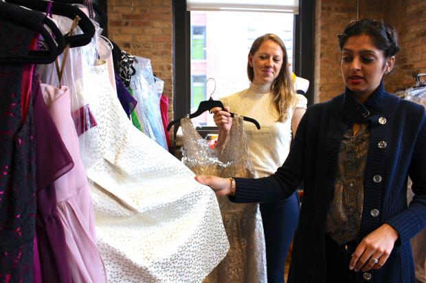 "Sonali Lamba and Nicole Staple's school project is now a booming business — thanks in part to their prime location in Chicago, an ""epicenter"" of wedding planning, Lamba said."