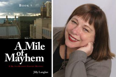 "Jill Folan completed ""A Mile of Mayhem,"" the first of what she envisions will be a three-part series about vampires in Streeterville."