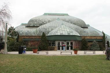 The Lincoln Park Conservatory will feature a Winter Flower & Train Show through Jan. 5 (file photo).