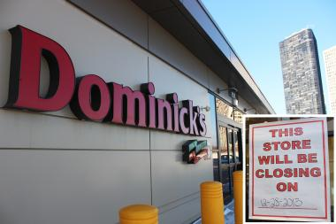 The Dominick's at Sheridan Road and Foster Avenue was bought by Mariano's.