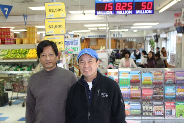 Somebody who has yet to come forward and claim their prize bought a Quick Pick lottery ticket at Tai Nam Market, 4925 N. Broadway, that matched all five numbers but missed the Mega Ball, meaning the buyer can still claim $1 million of Tuesday night's $636 million  Mega Millions   jackpot.