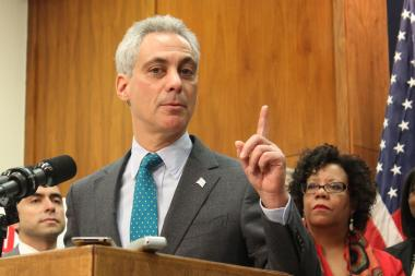 Mayor Rahm Emanuel said Big Tobacco is not welcome in the City of the Big Shoulders.