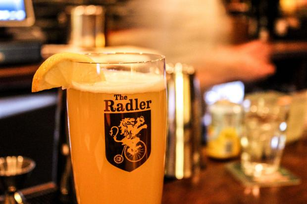 The Radler, a German beer hall, has opened in the fast-developing 2300 block of North Milwaukee Avenue.