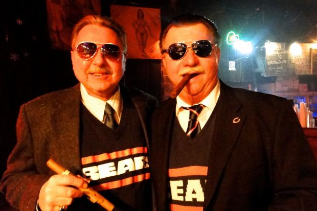 Photos from the Mike Ditka Look-Alike Contest at Double Door Sunday.
