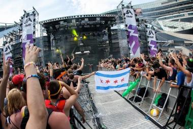 Chicago Police report that 33 people were arrested during the three-day Spring Awakening Music Festival at Addams/Medill Park.