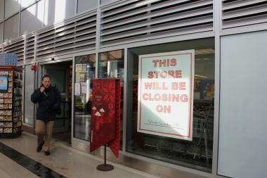 The Dominick's at 255 E. Grand Ave. will close Dec. 28, according to the manager.