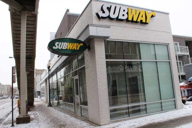 New subway opening across from cta blue line s western l